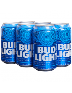 Bud Light - 6 Cans