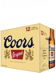 COORS ORIGINAL - 12 Bottles