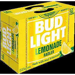 Bud Light Lemonade Radler -...
