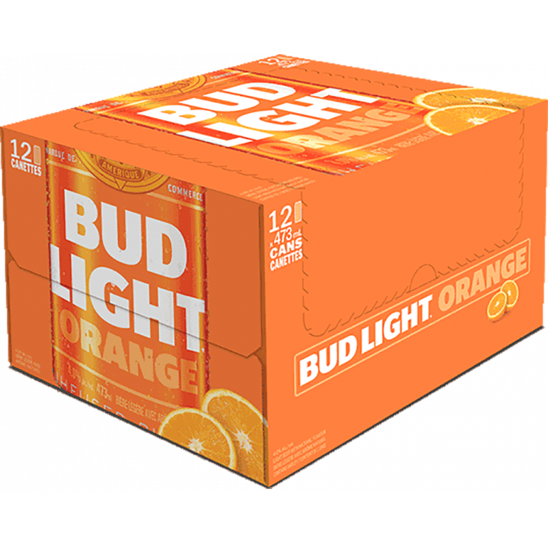 Bud Light Orange - 12 Cans
