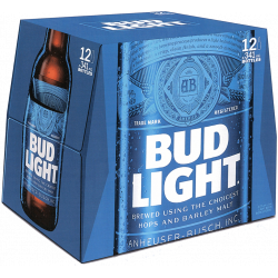 Bud Light -12 Bottles