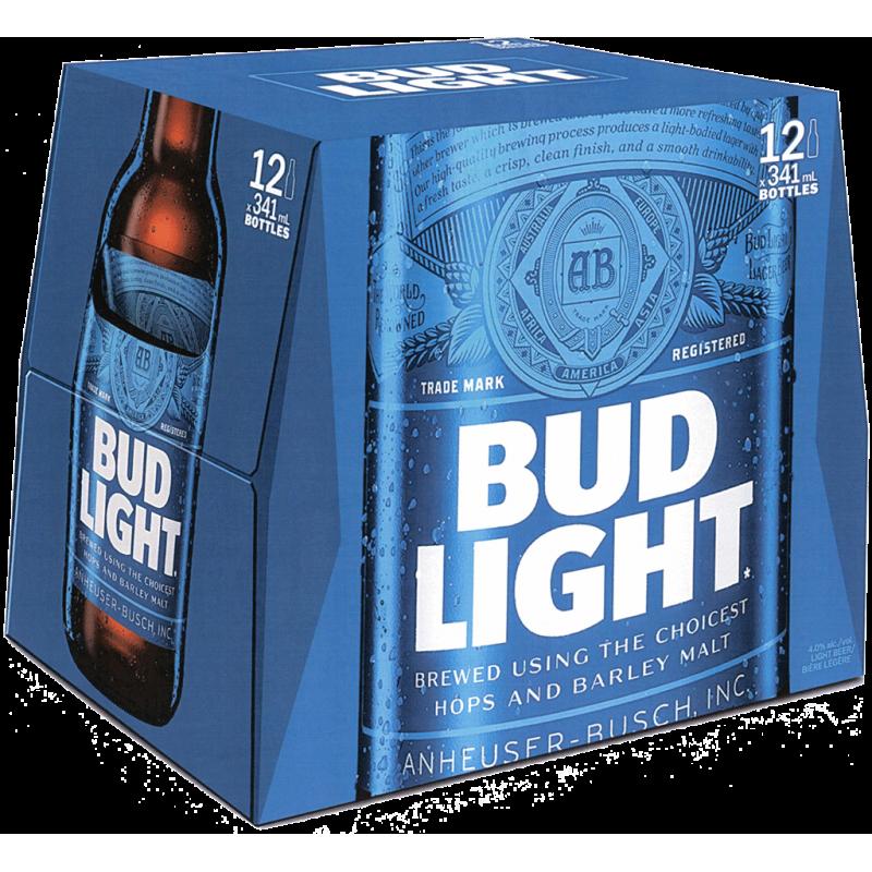 Bud Light -12 Bottles