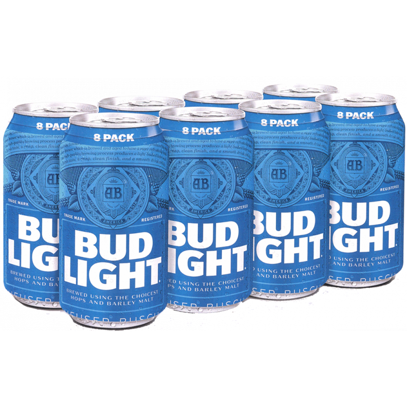 Bud Light - 8 cans