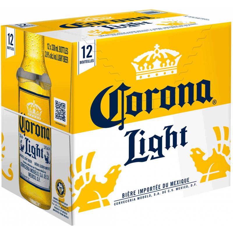 Corona Light Lager - 12 Bottles