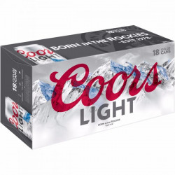 Coors Light - 18 Cans